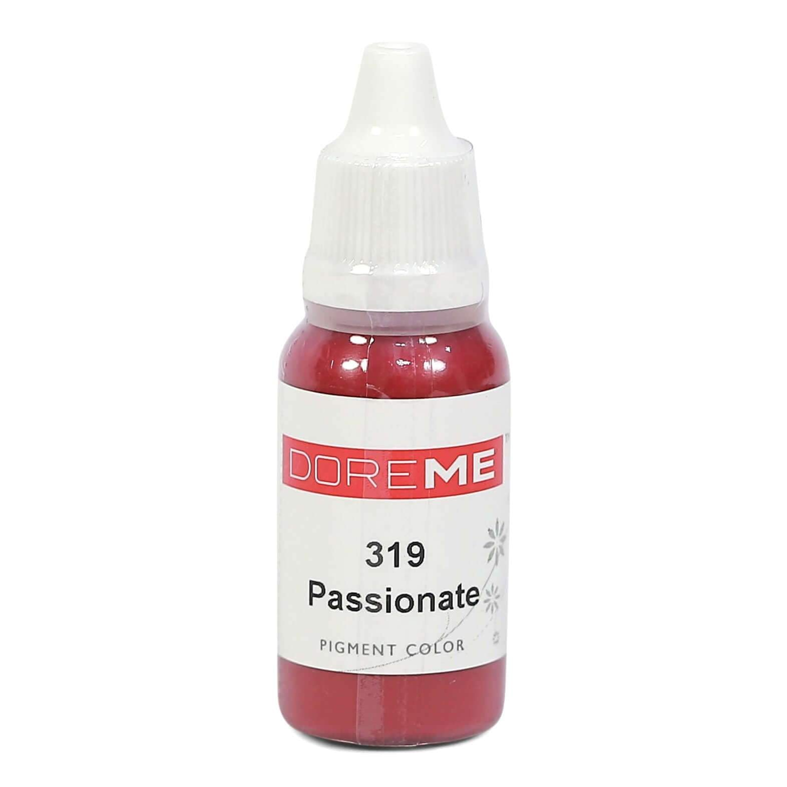 Permanent Makeup pigments Doreme Micropigmentation Eyebrow, Eyeliner, Lip Colours 319 Passionate (c) - Beautiful Ink UK trade and wholesale supplier