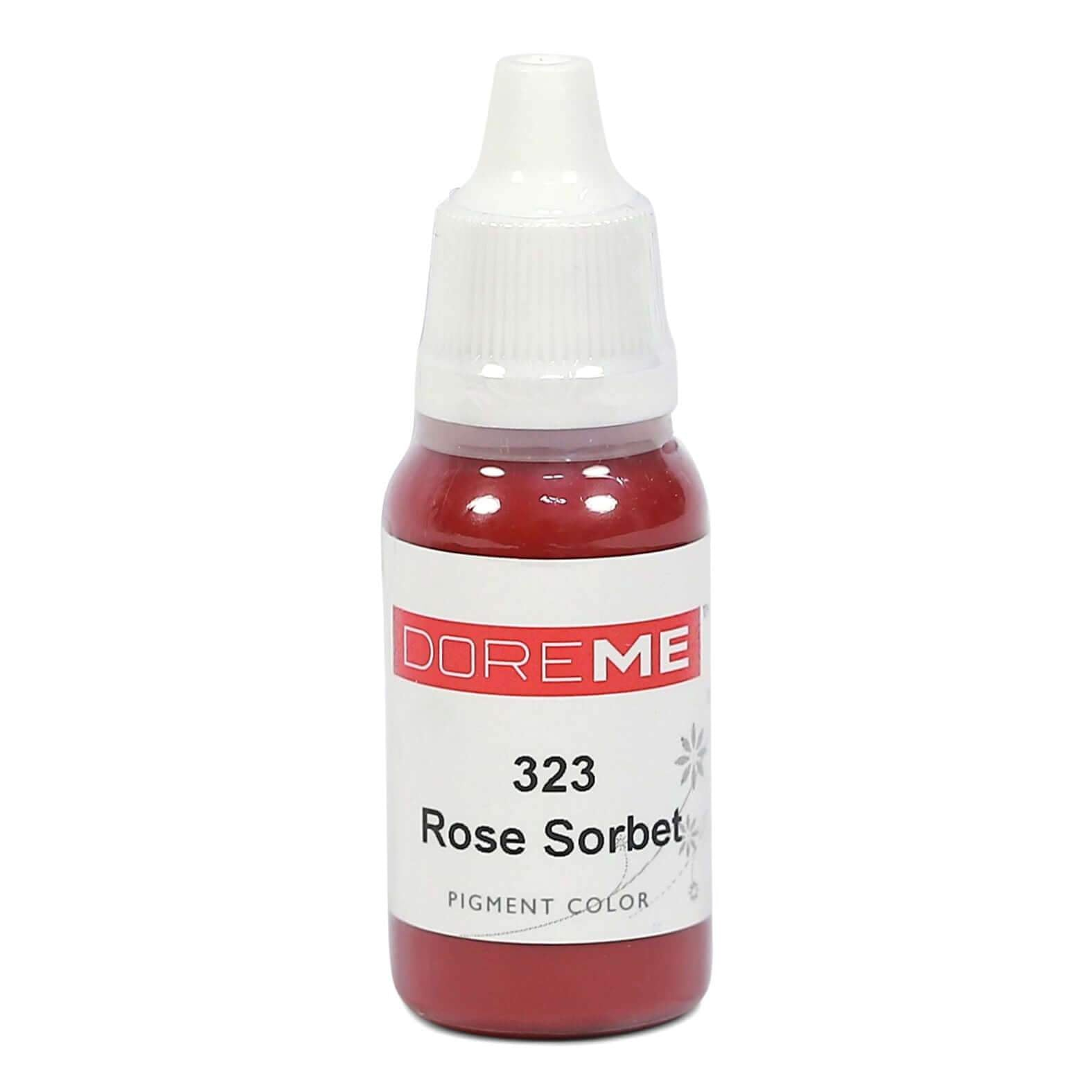 Permanent Makeup pigments Doreme Micropigmentation Eyebrow, Eyeliner, Lip Colours 323 Rose Sorbet (c) - Beautiful Ink UK trade and wholesale supplier