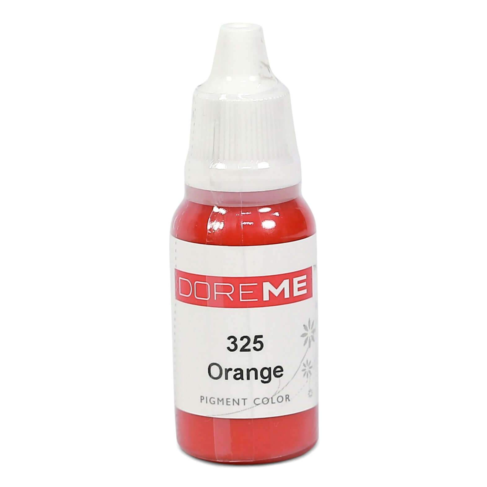 Permanent Makeup pigments Doreme Micropigmentation Eyebrow, Eyeliner, Lip Colours 325 Orange (w) - Beautiful Ink UK trade and wholesale supplier