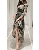 Romantic Floral Long Dress