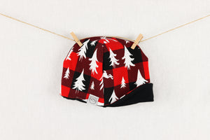 Woodland Buffalo Plaid Lil Explorer Cap