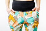 Spring Fling Mountains Womens Jogger