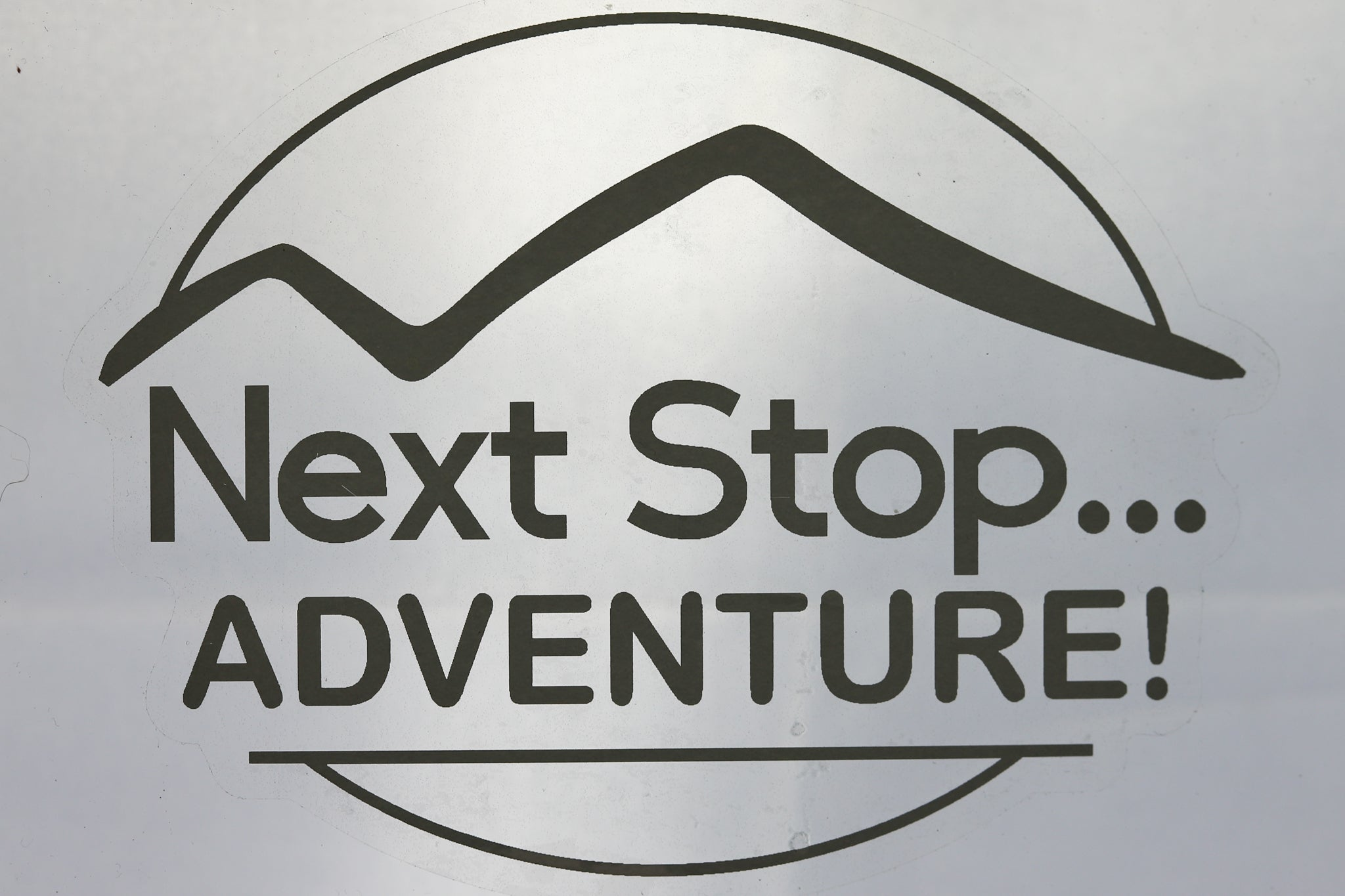 Next Stop... Adventure Decal