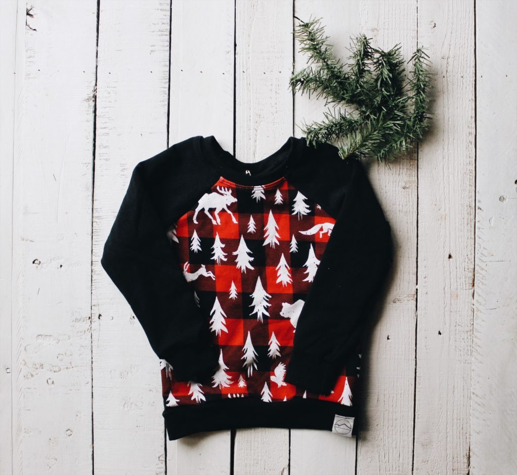 Woodland Buffalo Plaid Sweatshirt