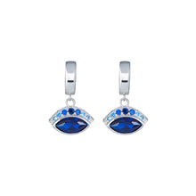 Load image into Gallery viewer, Iris Earrings - Blue