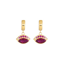 Load image into Gallery viewer, Iris Earrings - Pink