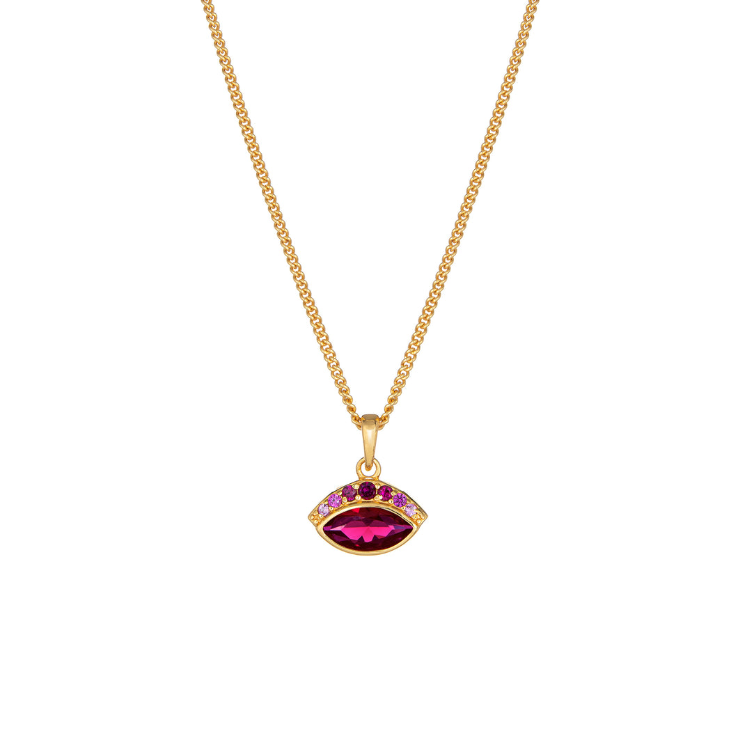 Iris Necklace - Pink