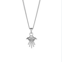 Load image into Gallery viewer, Small Spaceship Necklace