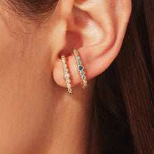 Load image into Gallery viewer, Archer Suspension Earring - White
