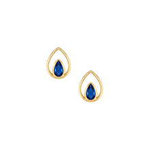 Load image into Gallery viewer, Tearjerker Studs - Blue