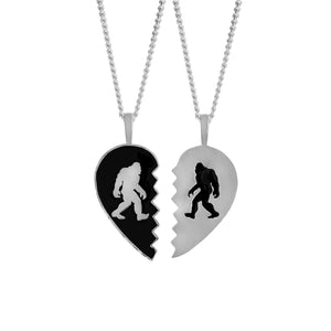 Bigfoot to My Yeti BFF Necklaces