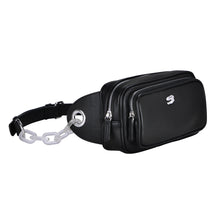 Load image into Gallery viewer, Black Odyssey Belt Bag