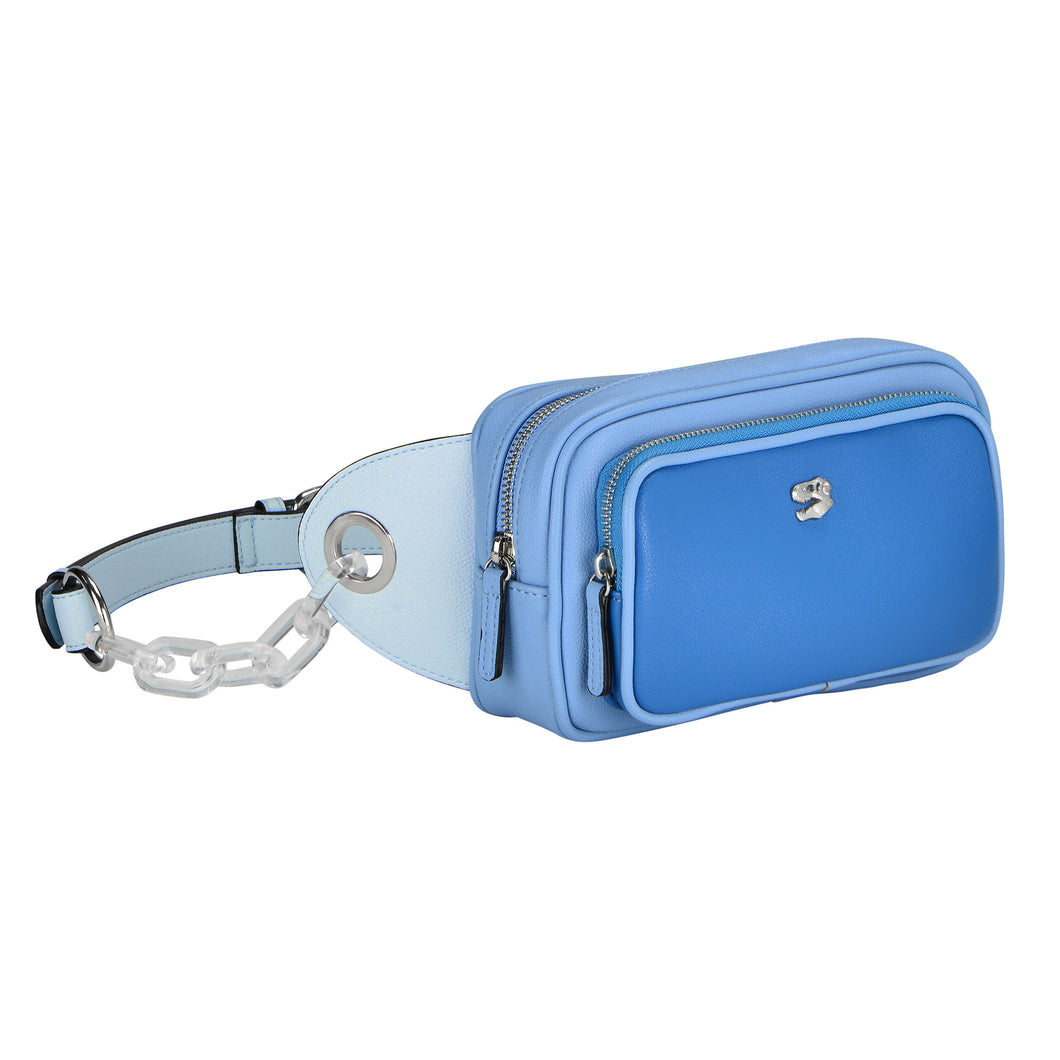 Blue Odyssey Belt Bag