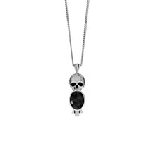 Load image into Gallery viewer, Deco Skull Necklace