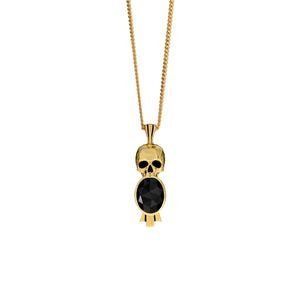 Deco Skull Necklace