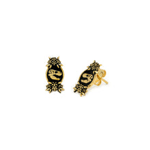 Load image into Gallery viewer, Mini Floral T-Rex Studs