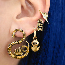 Load image into Gallery viewer, Sea Monster Earrings