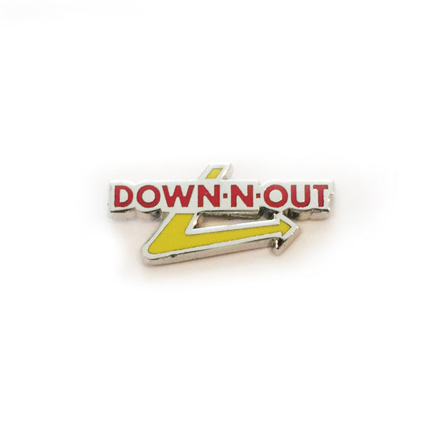 Down Out Series-Down N Out in Red