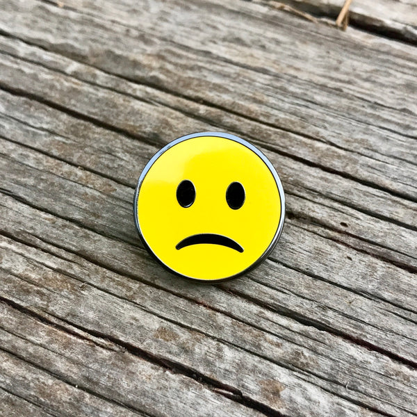 The Sad Face in Yellow