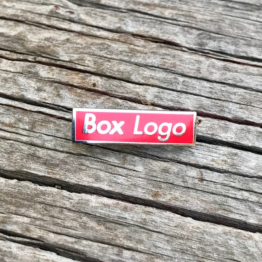 The Box Logo in Red
