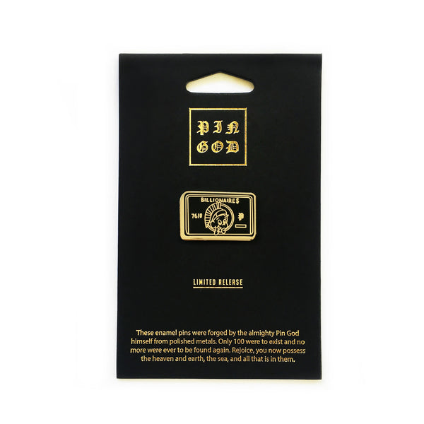 The Billionaires Card in Black
