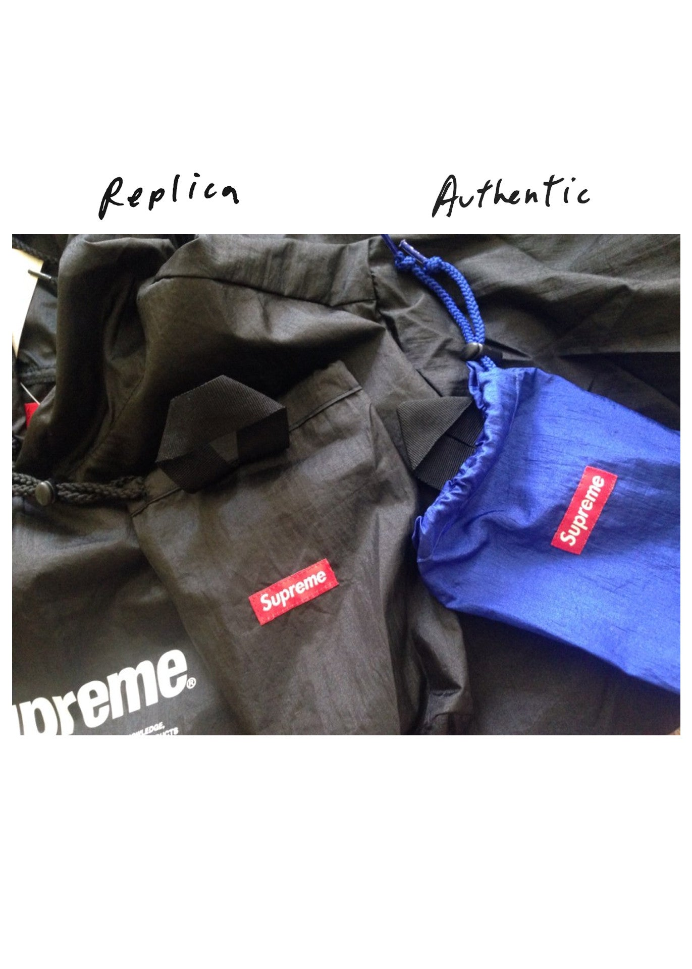 Supreme Nylon Packable Poncho (S/S 2016)