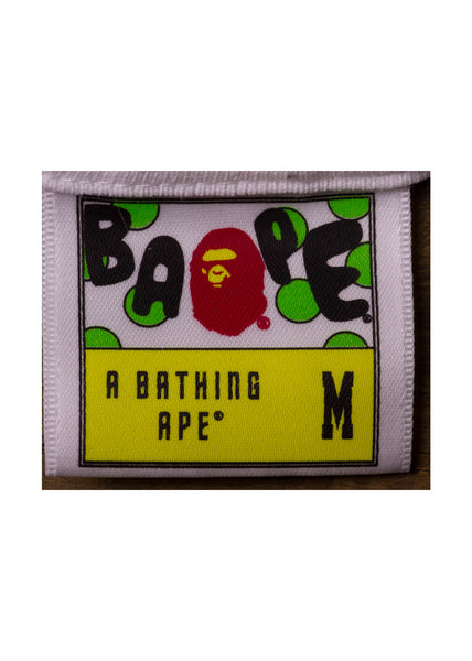 Comparison of Real and Fake Bape Tags (Macro)