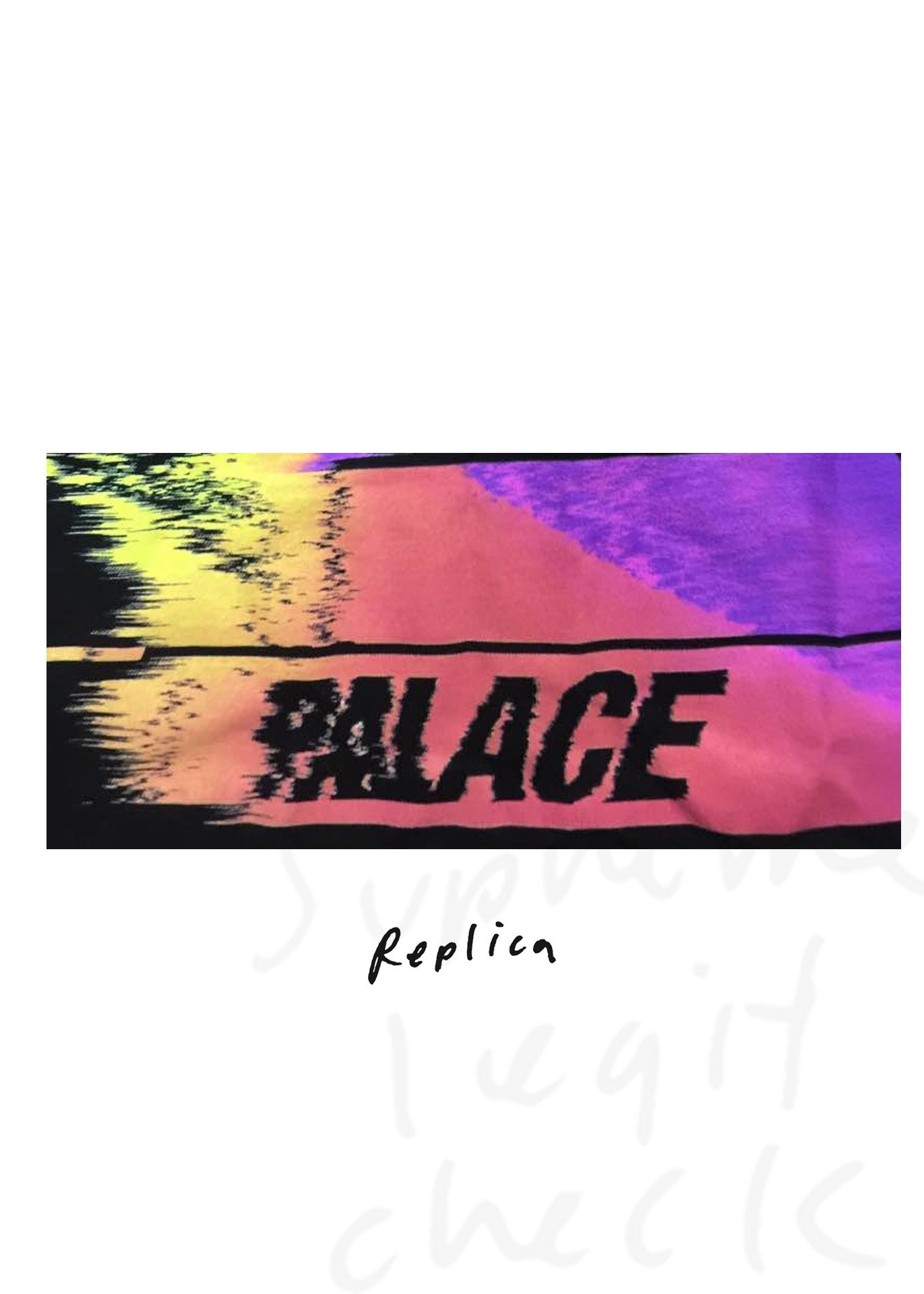Palace Tri-Smudge T-Shirt (S/S 2016)