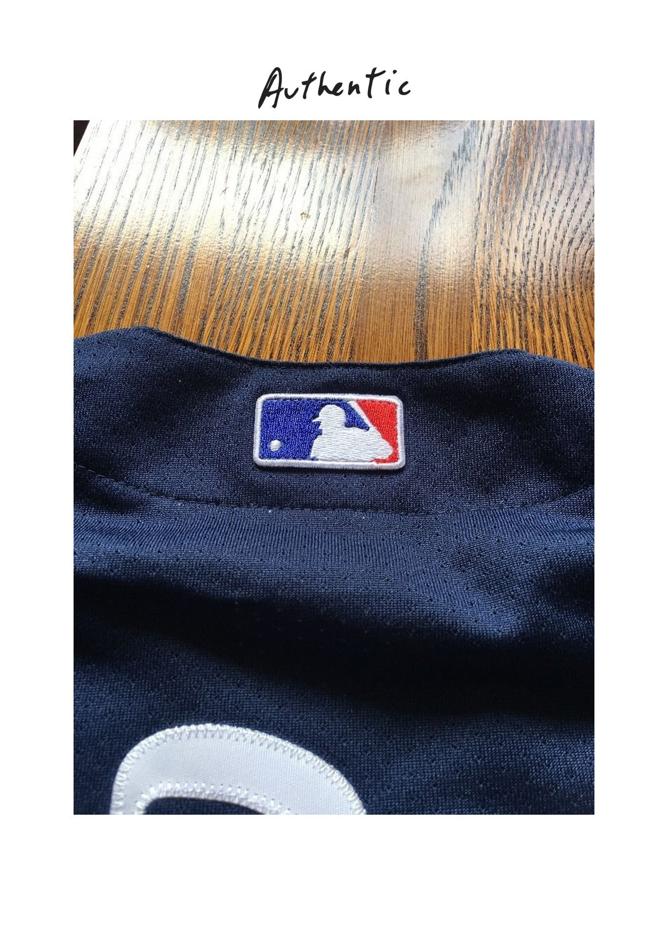 Supreme x New York Yankees Majestic Baseball Jersey  (S/S 2015)