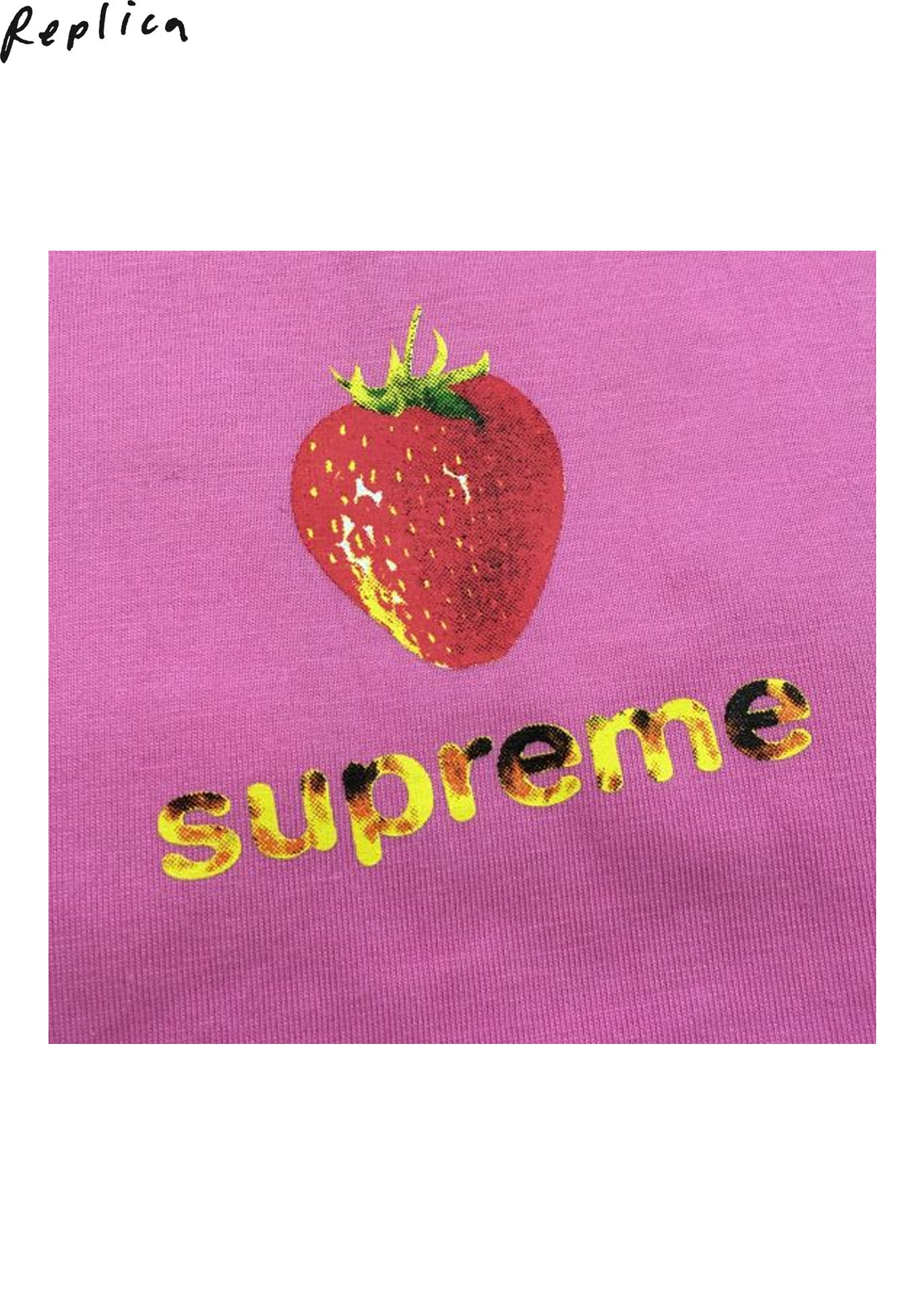Supreme Berry Strawberry Tee (S/S 2016)
