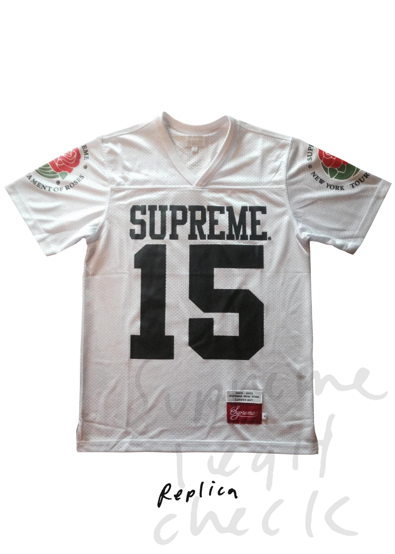 Supreme Rose Football Top (S/S 2013)