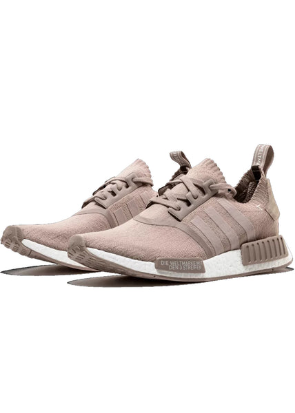 "Adidas NMD R1 Primeknit ""French Beige"" -  Vapour Grey/ White"