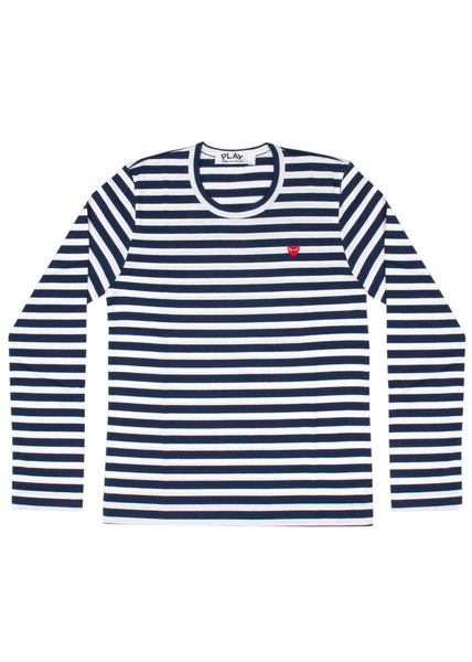CDG Play Striped T-Shirt