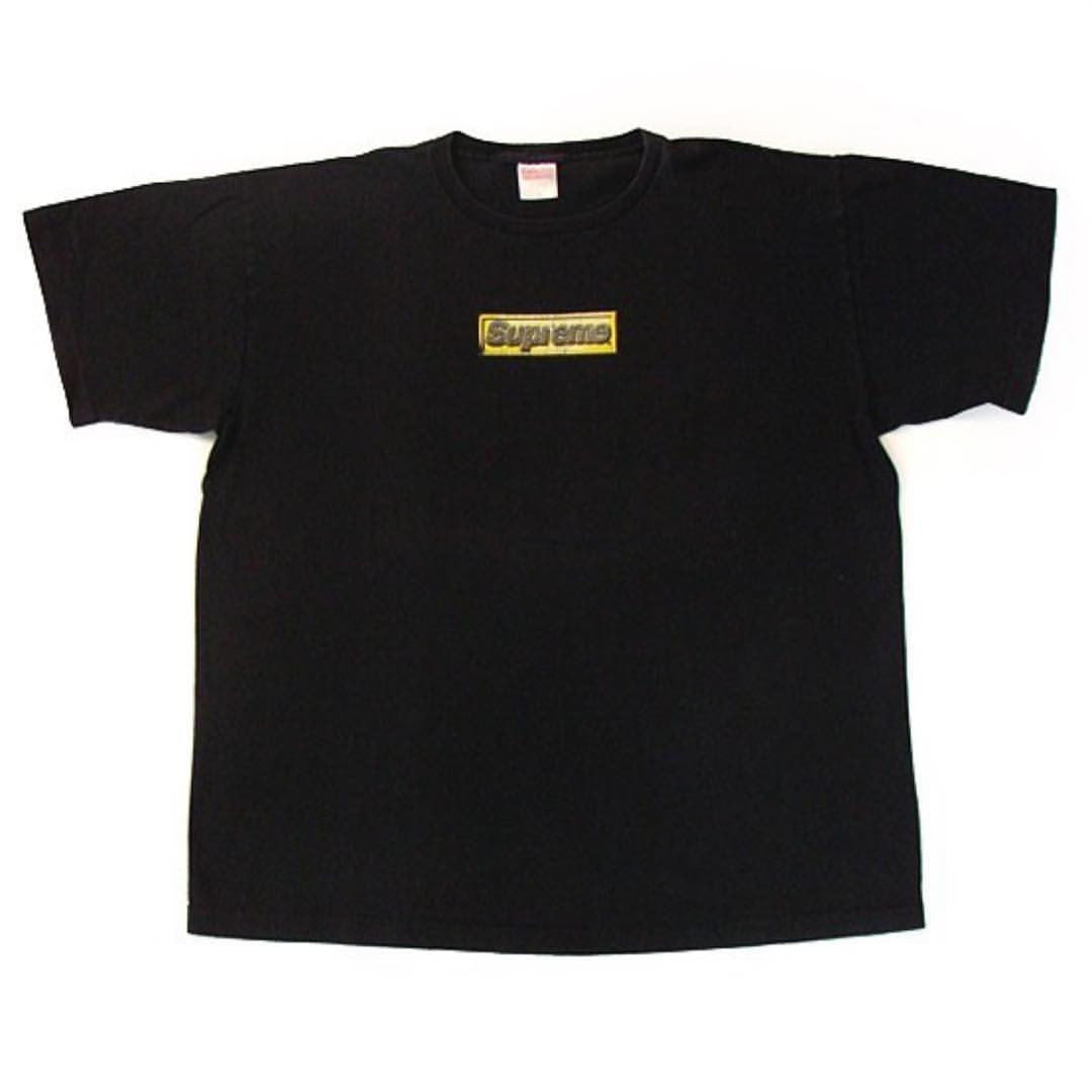 1999 Supreme Bling Box Logo Tee