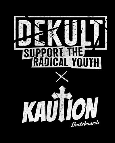 Dekult/Kaution Collaboration Tee
