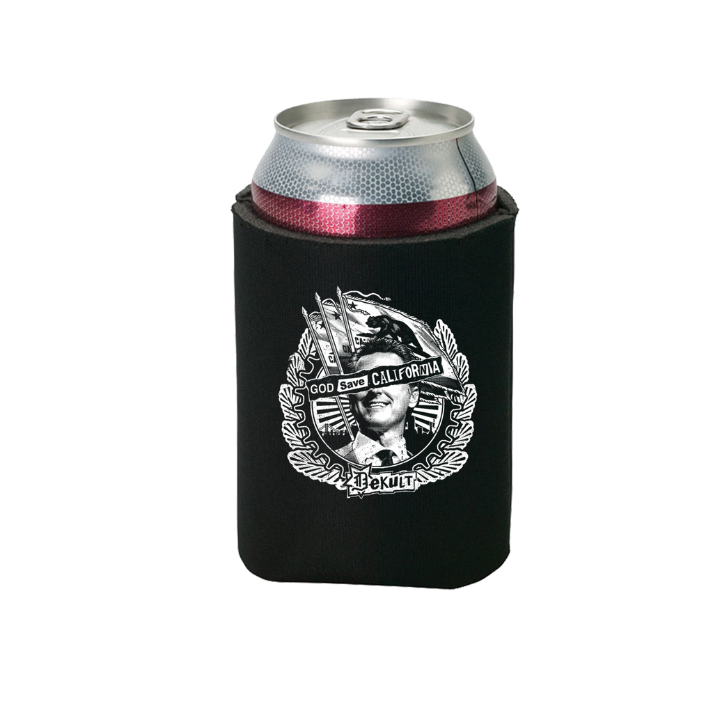 Dekult - God Save California (Beer Koozie)