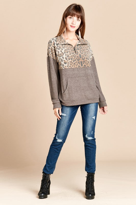Leopard Pullover (SO SOFT!)