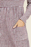 Soft Striped Dress