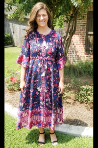 Tropic Twist Maxi Dress