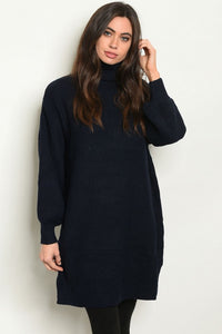 Navy Oversized Sweater