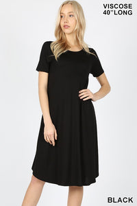 Sway & Swing Dress in Black
