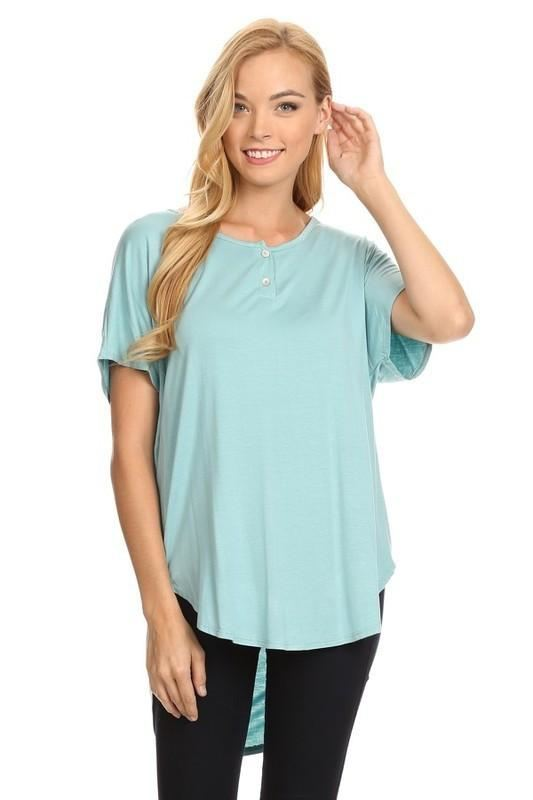 Simplicity On A Saturday Tunic - - Slim Top