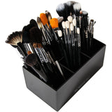 Acrylic Brush And Liner Organizer (6 slots) - USA - N2 Makeup Co - Acrylic Makeup Organizers