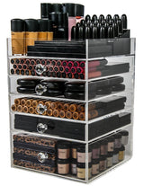 N2 Cube Acrylic Makeup Organizer Box (5 drawers) - Canada - N2 Makeup Co - Acrylic Makeup Organizers