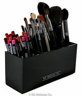 Acrylic Brush And Liner Organizer (3 slots) - Canada - N2 Makeup Co - Acrylic Makeup Organizers