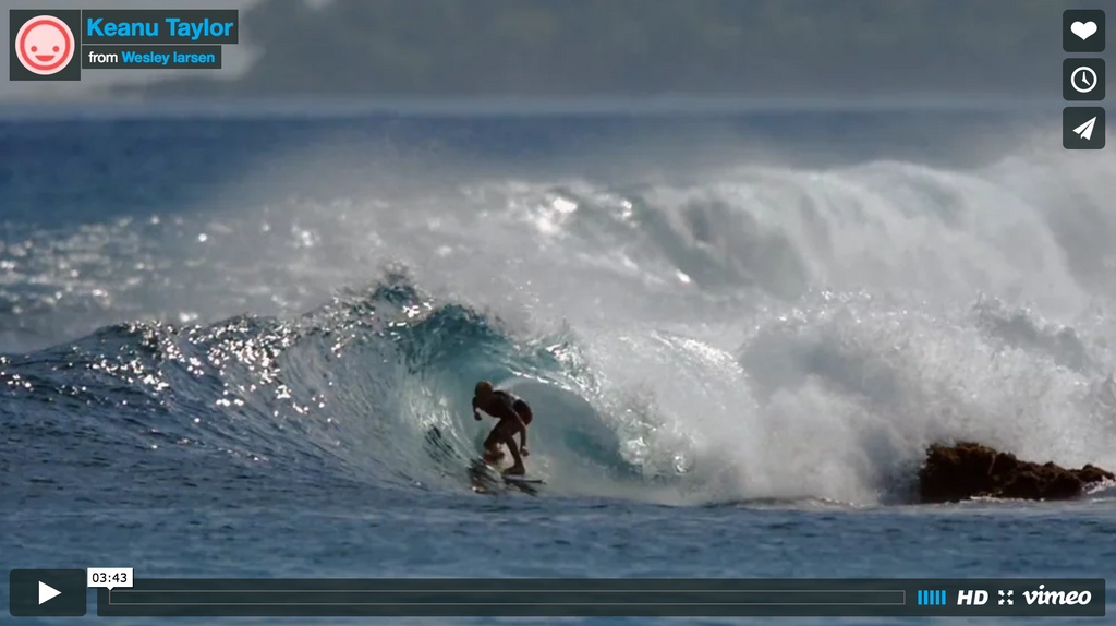 Keanu Taylor // Surf Stoked and Shredding