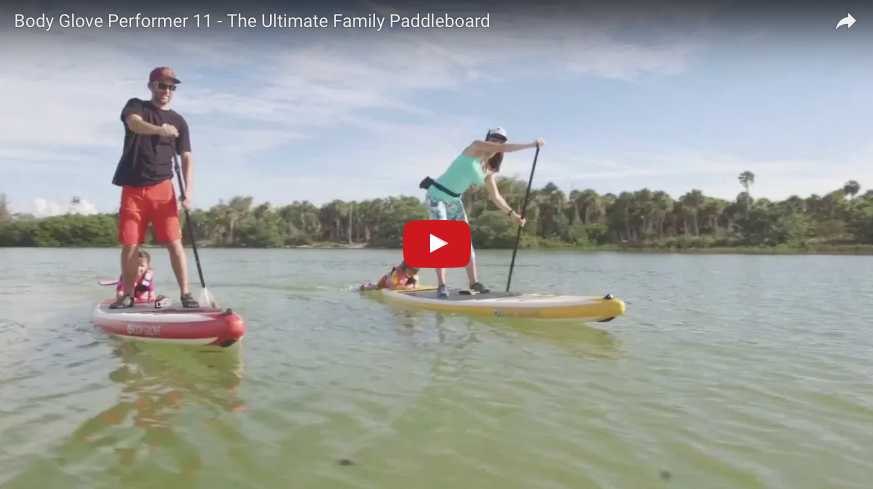 Performer 11 - The Ultimate Family Paddleboard