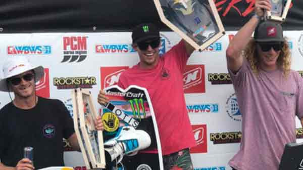 Harley Clifford Wins the Nautique Boats Wake Open