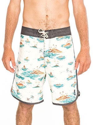 Cotton-Poly Boardshorts