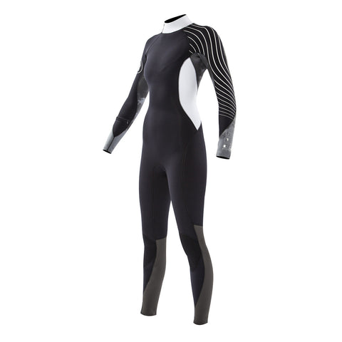Women's Stellar 4/3 Back Zip Fullsuit